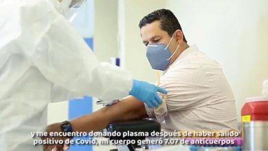 Photo of Diego Sinhue dona plasma para enfermos de Covid-19