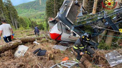 Photo of Se parte el cable de un teleférico en Italia: 14 muertos