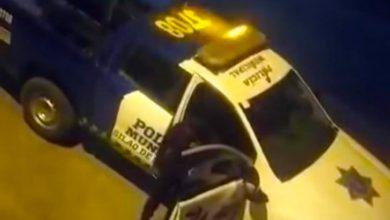 Photo of 'Cachan' a policía ebrio en Silao