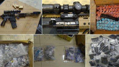 Photo of 'Cae' arsenal en Irapuato con miles de piezas para ensamblar armas