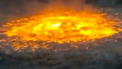 Photo of 'Ojo de fuego' en el Golfo de México
